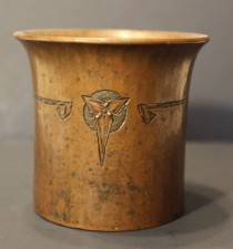 Roycroft Hammered Copper Cigarette Holder