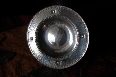 Rich Reitz Pewter Porringer
