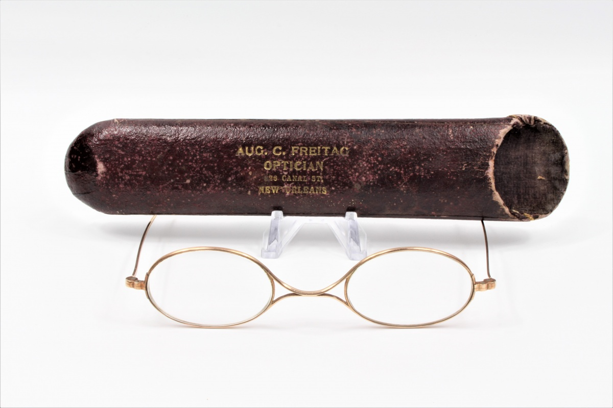 14k Gold Confederate Officers Eyeglasses – New Orleans Louisiana